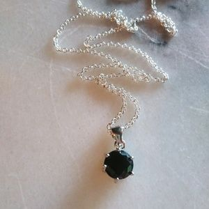 Pretty silver filled necklace